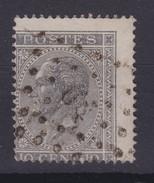 N° 17 Dentelure Fortement Décalée - 1865-1866 Linksprofil