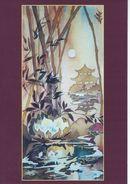 "Painting ""Lotus""  Artist: Nana Watts  # 086 - Paintings"