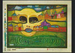 Wiechmann Bildkarte: Friedensreich Hundertwasser. Irinaland Auf Dem Balkan   # 0710 - Paintings