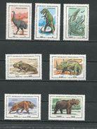MADAGASCAR  Scott 1174-1180 Yvert 1338-1344 (7) ** Cote 4,50 $ 1994 - Madagascar (1960-...)