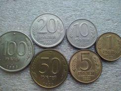 Russia  1 - 100 Rubles   1992-93 - Russie