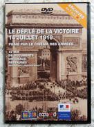 MILITARIA DVD WW1 Première Guerre Mondiale - Le Défilé De La Victoire 14 Juillet 1919 PARIS & 21 Juillet BRUXELLES - Livres, Revues & Catalogues