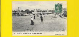 ROYAN Jeu De Lawn-Tennis à La Conche Du Chay (NG) Charente Maritime (17) - Royan