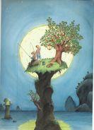 """Painting """" Some Night""""  Artist:  Noah Norrid.     # 04083 - Paintings"""