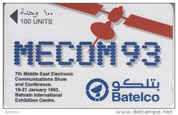 BAHRAIN(GPT) - MECOM 93, CN : 13BAHB/B, Tirage 5000, Used - Bahrain