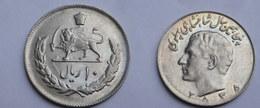 Iran 10 Rials 1976 -MS 2535  -    KM#  1208 -       Sup.    50° ANNIV DYNASTIE PALHAVI - Iran