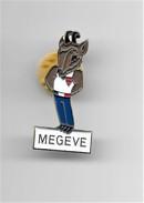 PINS VILLE MEGEVE BOUQUETIN  74 HAUTE SAVOIE  / 33NAT - Cities