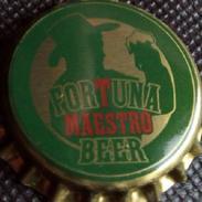 Fortuna Maestro Beer Bier Kronkorken Spain 2017 Bottle Crown Cap Chapa Cerveza Tapon Corona Capsule Biere Tappi Birra - Beer