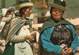Pérou Huancayo Animée Indiens Au Marché - Peru
