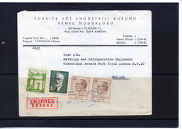 Timbre : Turquie : Lettre De 1965. - Turkey