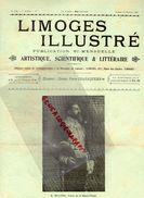 87-LIMOGES ILLUSTRE -RARE REVUE LIMOUSINE 15 JUILLET 1905-M. DELANNEY PREFET HAUTE VIENNE-VIADUC ROCHEROLLES-PUB NIVET- - Limousin