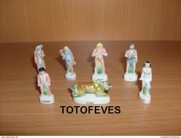 SERIE COMPLETE RAHAN DE 7 FEVES N°366 - Charms