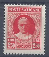 VATICAN -  1929 - N° 36 - Neuf XX - MNH - TB - Cote 22.50 € - Ongebruikt