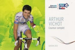 Arthur Vichot - FDJ Big Mat - 2012 - Cycling