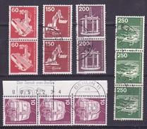 1975-82 Berlin. Industrie & Technik. Paare & Blöcke (Senat) - Usados