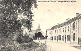 Vallée Du Geer - Roclenge - Vue Prise Rue De La Gare (animée, Rails, Librairie Olyff) - Bassenge