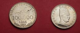 Turquie 100 000   Lira 1999      Km# 1078  SUP UNC - Turchia