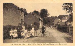 Vallée Du Geer - Roclenge - Rue Du Grand Brouc Et Les Tresseuses (top Animation, Edit Henri Kaquet) - Bassenge