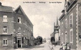 Vallée Du Geer - Roclenge - La Rue De L'Eglise (animée, Café Hôtel Restaurant, Librairie Olyff) - Bassenge