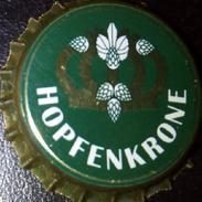 Hopfenkrone Mauritius Brauerei Bier Kronkorken Zwickau 2017 Beer Bottle Crown Cap, Chapa Cerveza Tappo Tapon Corona - Beer