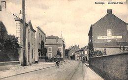 Roclenge - La Grand' Rue (animée, Delhaize, Librairie Olyff, 1910) - Bassenge