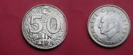 Turquie 50 000 Lira      (50bin Lira ) 1998  Km# 1056   UNC SUP - Turquie