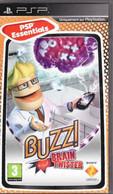 JEU PSP ! BUZZ BRAIN TWISTER (poids Poste 110gr) Conflict ( état TTB ) - Jeux électroniques