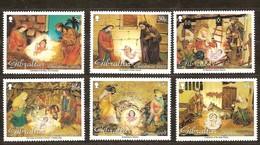 Gibraltar 2002 Yvertnr. 1023-28 *** MNH Noel Kerstmis Christmas Cote 11 Euro - Gibraltar