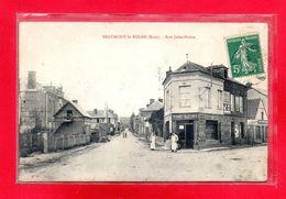 27-CPA BEAUMONT LE ROGER - RUE JULES PRIORE - Beaumont-le-Roger