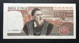 20000 Lire Regine Tiziano 1975 Bel Bb+ Naturale  LOTTO 105 - [ 2] 1946-… : Républic