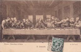 IL CENACOLO. L. DA VINCI. MILANO, PINACOTECA DI BRERA. BRUNNER & C.-CIRCULEE TO URUGUAY-TBE-BLEUP - Schilderijen