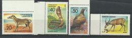 Turkmenistan 1992, Animali Selvatici (**), Serie Completa - Turkmenistan