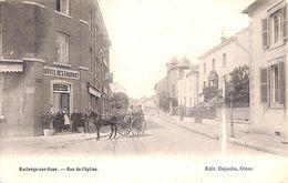 Roclenge Sur Geer - Rue De L'Eglise (animée, Hôtel Restaurant Café, Edit Dejardin, 1903) - Bassenge