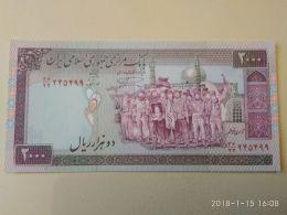 2000 Rial 2000 - Iran