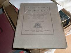 Judaica Kner Izidor Gyoma 1922 Igaz Historia Samasatai Lukianos  Revai Jozsef - Books, Magazines, Comics