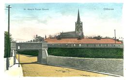LANCS - CLITHEROE - ST MARY'S PARISH CHURCH La3096 - England