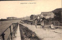 Argenteau - Rue Du Pont (animée, Attelage) - Visé