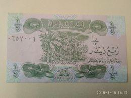 1/4 Dinars 1979 - Iraq