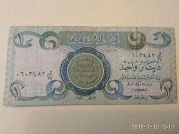 1 Dinars 1980 - Iraq