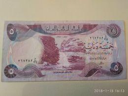 5 Dinars 1981 - Iraq