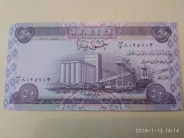 50 Dinars 2003 - Iraq