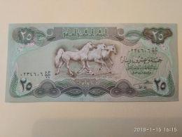 25 Dinars 1990 - Iraq