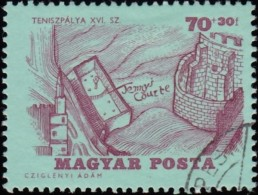 HUNGARY - Scott #B246 Tennis Court And Castle (*) / Used Stamp - Tennis