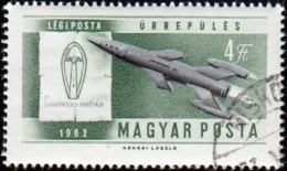 HUNGARY - Scott #C218 Space Rocket / Used Stamp - Space