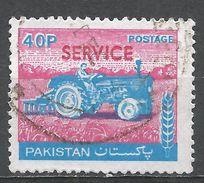 Pakistan 1979. Scott #O100 (U) Tractor - Pakistan