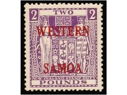 0762 BRITISH SAMOA - American Samoa
