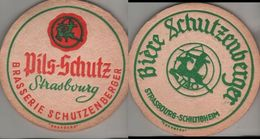 Bierdeckel Rund - Schutzenberger - Sous-bocks