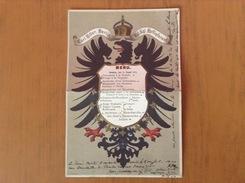 Hôtel Carl Hiller Berlin.Menu Du 18/8/1878 - Menu
