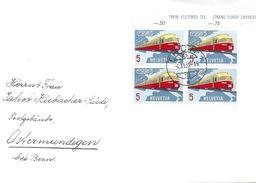 Brief  Thun - Ostermundigen  (VB-Frankatur)             1962 - Switzerland