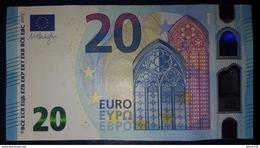 20 EURO S012I6 Draghi Italy Serie SA Ch30 Perfect UNC - EURO